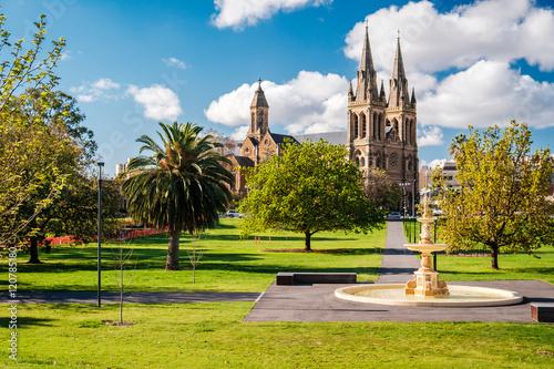 Pennington Gardens in Adelaide, SA Canvas Print