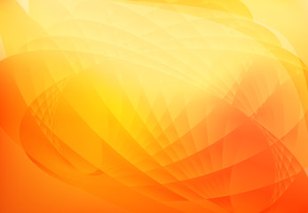 abstract wave background orange
