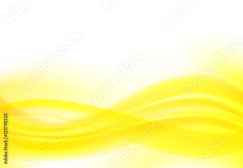 abstract wave background yellow