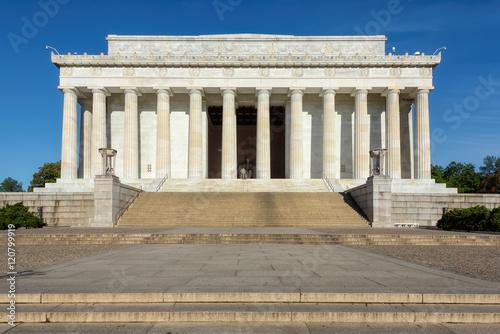 Fotografia  Lincoln Memorial early in the morning, Washington DC US USA