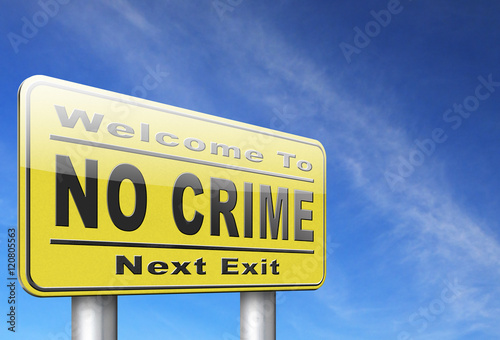 no crime Canvas Print