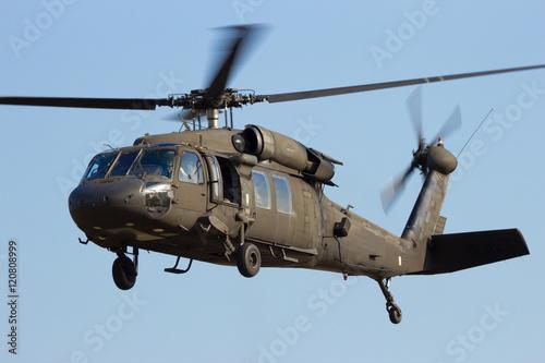 Türaufkleber Hubschrauber Military helicopter