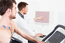 Cardiac Stress Test ECG Tracings