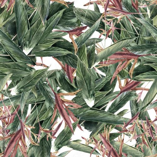 kwiaty-z-liscmi-malowane-akwarela