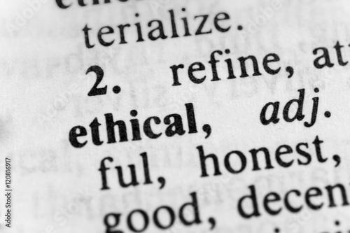 Fotografie, Obraz  Ethical