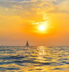 Panel Szklany Morze Yacht