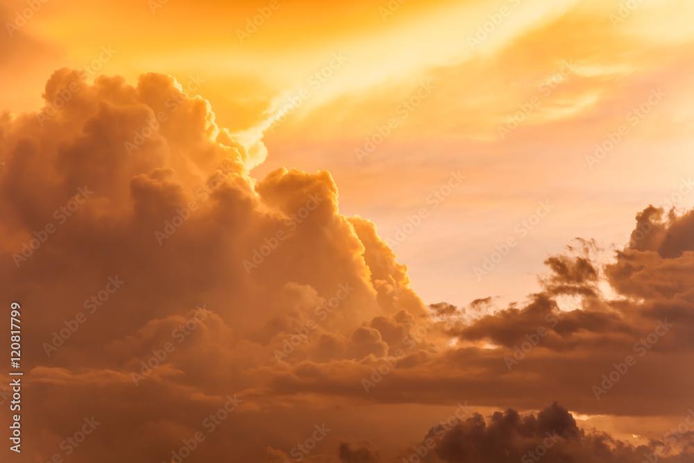 Fototapeta dramatic clouds