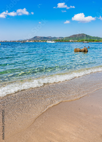 Foto op Canvas Cyprus Spain Majorca Seaside Beach at Costa dels Pins