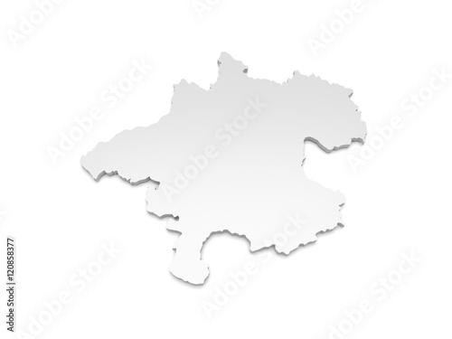 3d Karte Osterreich.3d Illustration Karte Osterreich Oberosterreich Kaufen