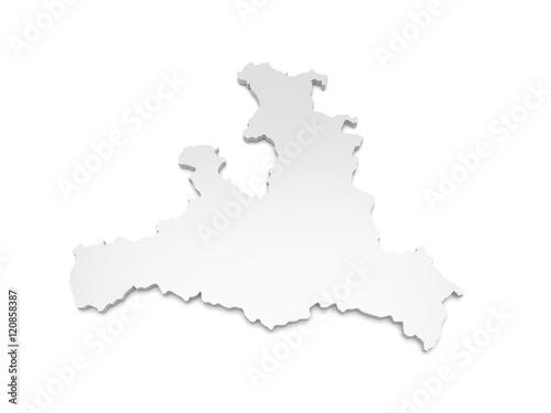 3d Karte Osterreich.3d Illustration Karte Osterreich Salzburg Kaufen Sie