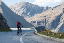 Radfahrer Auf Der Großglockne...
