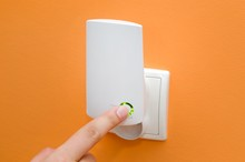 WiFi Repeater In Electrical Socket. Simply Way To Extend Wireles