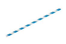Blue Striped Eco Paper Straw I...