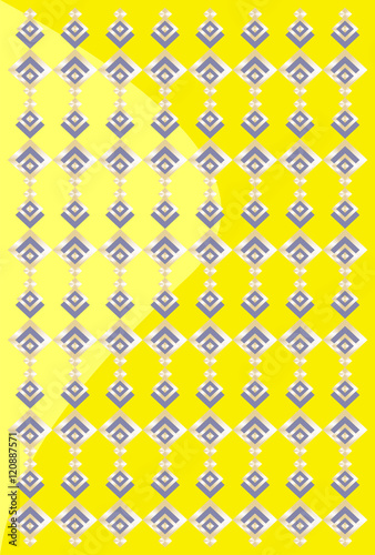 Pretty Background Imitating Golden And Black Jewelry Several Yellow Two