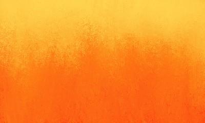 bright orange background with yellow border