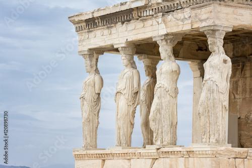 Printed kitchen splashbacks Athens The Porch of the Caryatids on Erechtheion, Acropolis of Athens, Greece