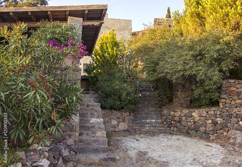 Papiers peints Jardin stone stairs