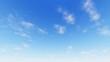 Leinwandbild Motiv Cloudy blue sky abstract background, blue sky background with ti