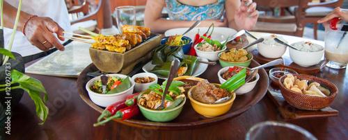 Foto op Aluminium Bali Delicious meal of Bali