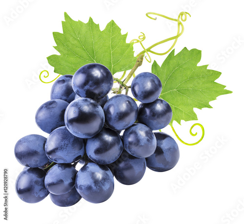 grapes isolated on the white background Fototapete