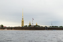 Peter And Paul Fortress With P...