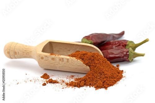 Paprikapulver, Paprika, Peperoni Billede på lærred