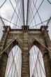 Brooklyn Bridge bei Wolken