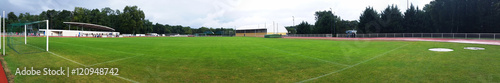 Fotografie, Obraz  Terrain de football en herbe