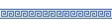 Bannière Méandres Grecs.