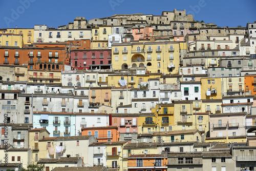 Photo Calitri, Avellino, Irpinia, panorama case tipiche