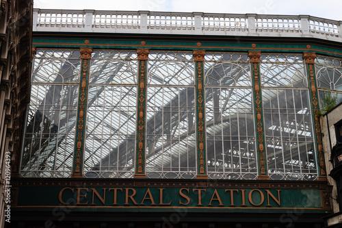 Foto auf AluDibond Bahnhof Glasgow central station