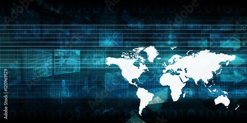 Fototapeta International Business obraz