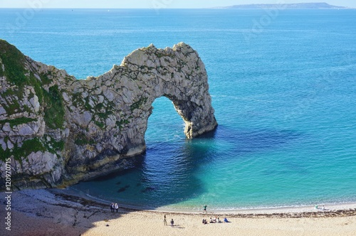 Foto op Plexiglas Kust The English Jurassic Coast in Durdle Door, Lulworth, Dorset