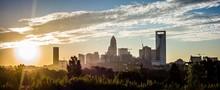 Amazing Sunrise Over Charlotte...