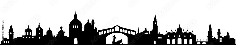 Fototapety, obrazy: Skyline Venedig