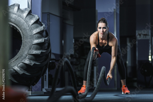 Fotografie, Obraz  Concept: power, strength, healthy lifestyle, sport
