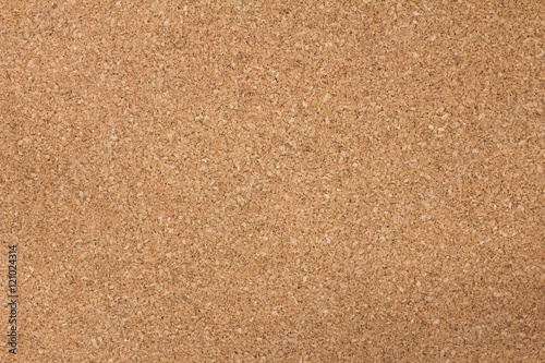 Foto  Brown cork board texture