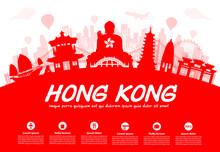 Hong Kong Travel Landmarks.