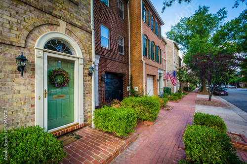 Valokuva  Houses in the Old Town of Alexandria, Virginia.