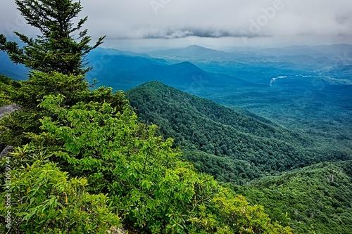 scenes along appalachian trail in great smoky mountains Fototapeta