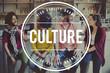 Leinwanddruck Bild - Cafe Coffee Coffeehouse Friends Lifestyle Concept