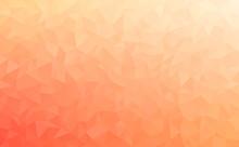 Polygonal Vector Mosaic - Red,...