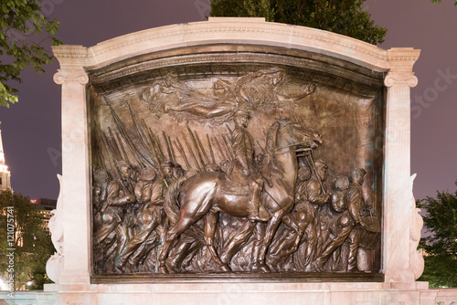 Photo Robert Gould Shaw and the 54th Regiment Monument