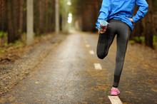Running Stretching Runner Doin...