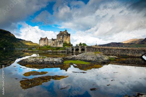 Keuken foto achterwand Noord Europa Eilean Donan Castle, Highlands, Scotland