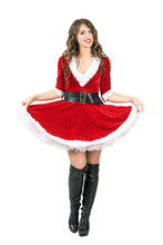 Beautiful Playful Santa Claus ...