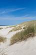 Leinwandbild Motiv Weite Dünen am Strand im Sommer