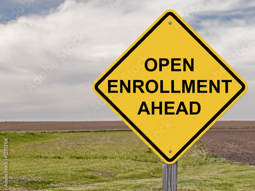 Fotografía  Caution - Open Enrollment Ahead