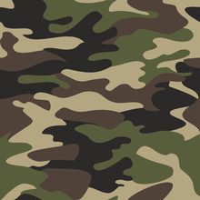 Camouflage Pattern Background ...