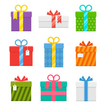 Gift Or Present Box